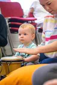 baby on bongo