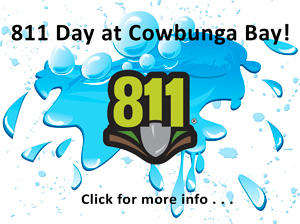 811 Day at Cowabunga Bay!