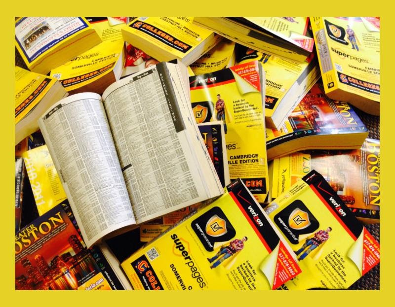 Two Clicks to Stop Waste: Opt Out of Your Phone Book