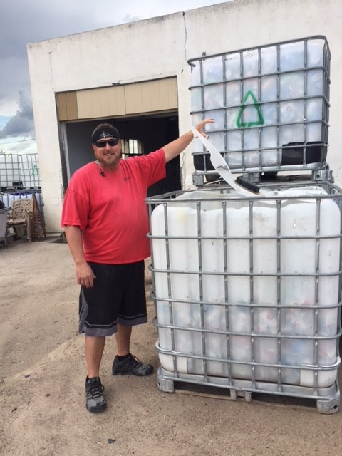 Spud Rowley at Kimball Recycling Center 1
