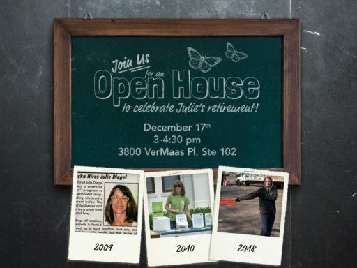 Julie's Retirement Open House