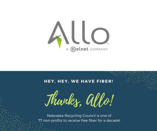 Thanks for the Fiber, Allo!