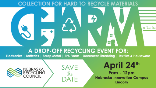 Apr 24: CHaRM – A Drop-Off Recycling Event