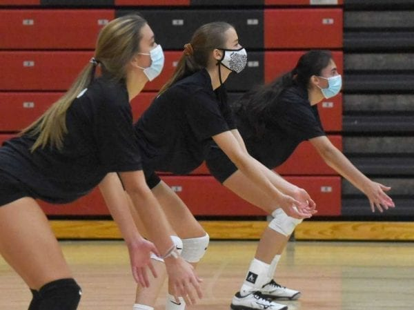 NCHSAA mandates masks for volleyball players at all times – The News  Reporter