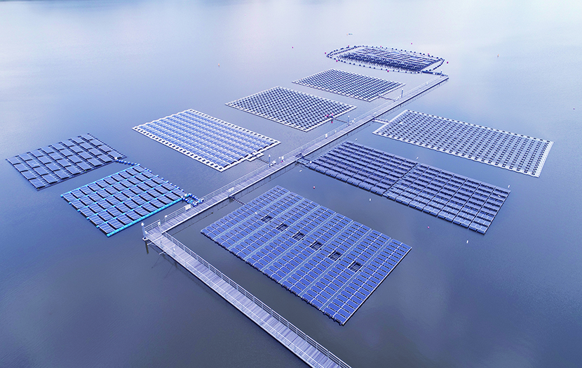 NRG ISLAND fotovoltaico galleggiante singapore
