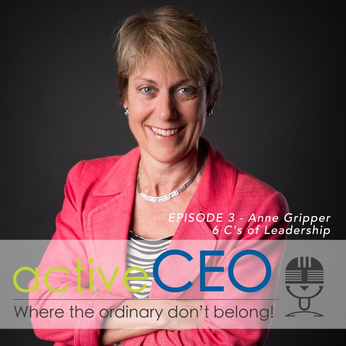 active CEO Podcast Ep 3 - Anne Gripper