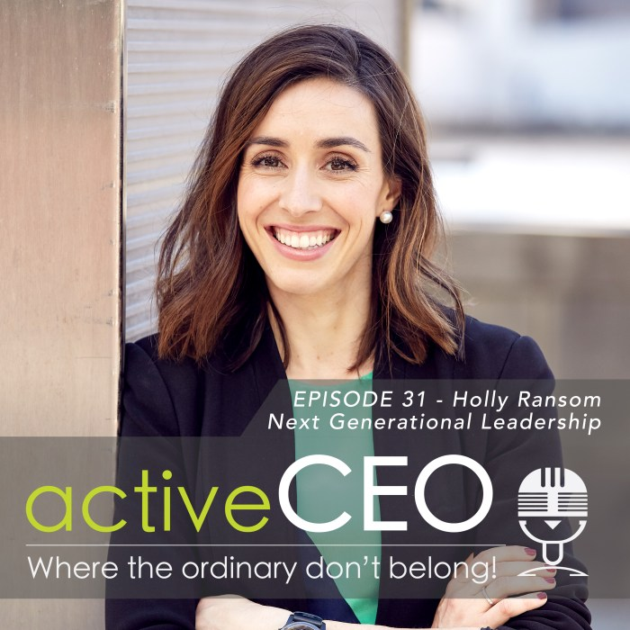 Holly Ransom (Emergent) – Next Generational Leadership