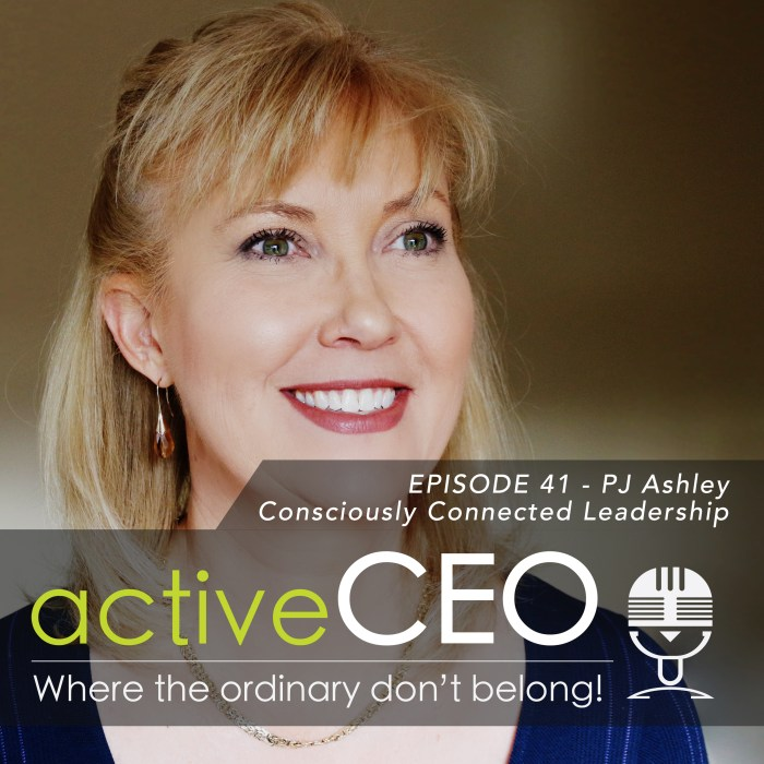 active CEO Podcast PJ Ashley (The Pillar Practice) – Consciously Connected Leadership
