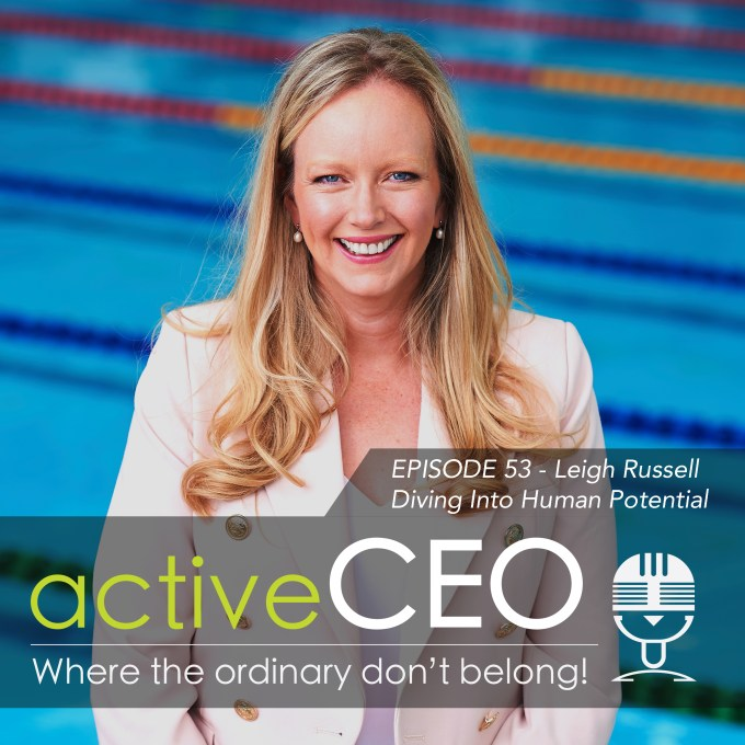 active CEO Podcast 53 Leigh Russell