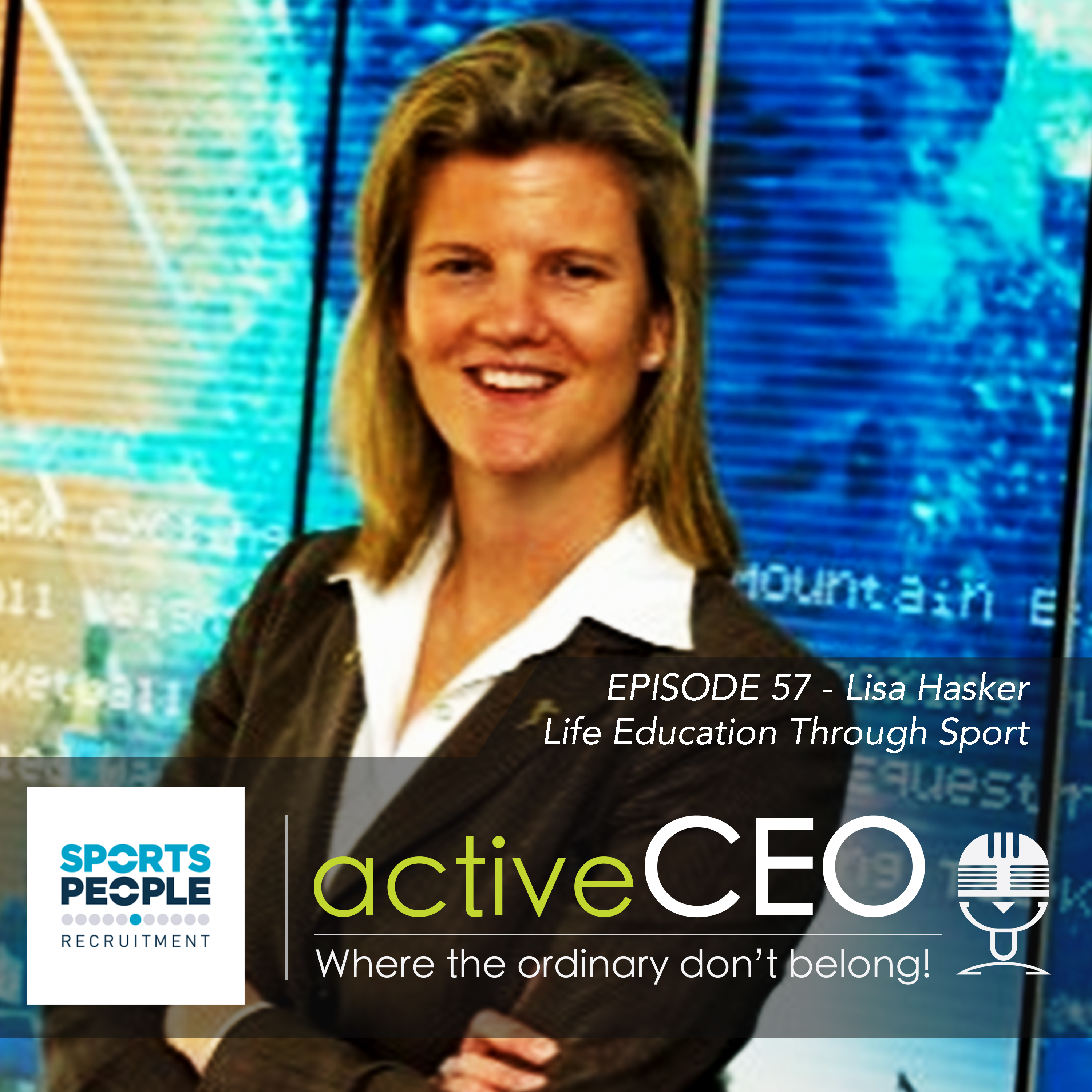 active CEO Podcast Lisa Hasker (VICSPORT) – Life Education Through Sport