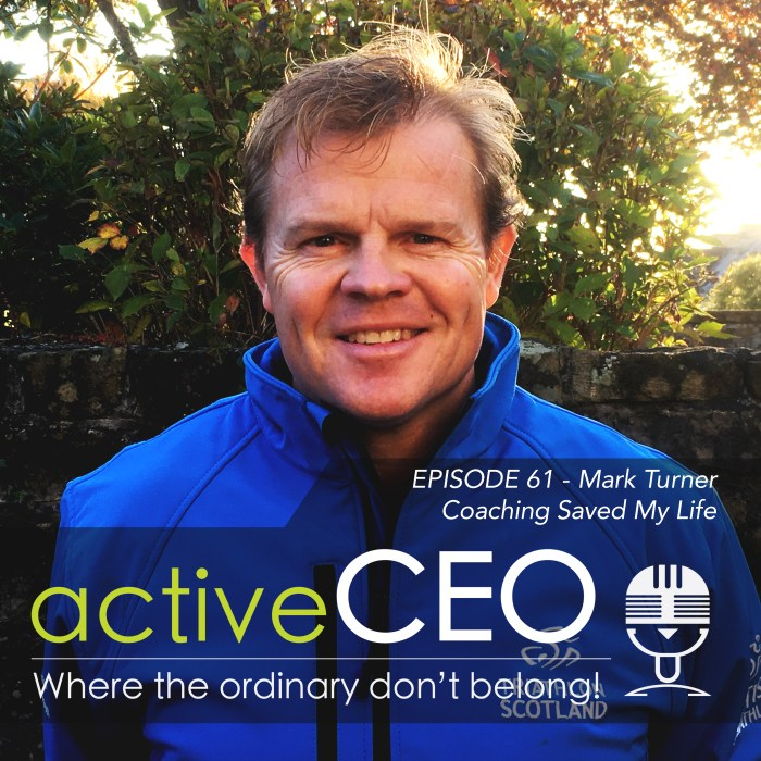 Mark Turner – Coaching Saved My Life