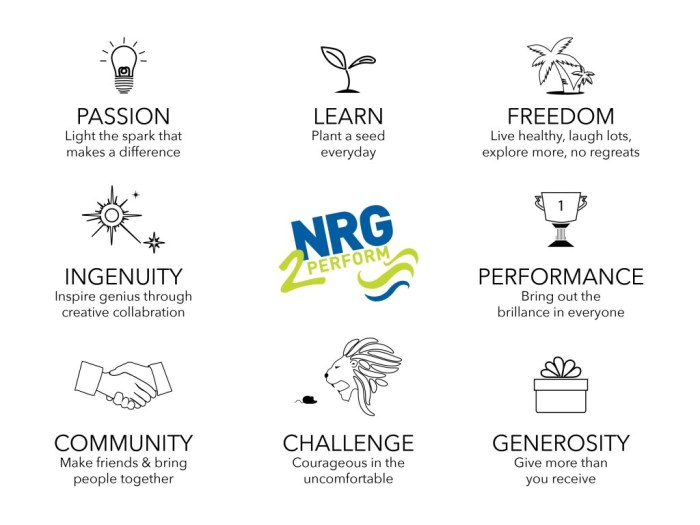Craig Johns values NRG2Perform DNA