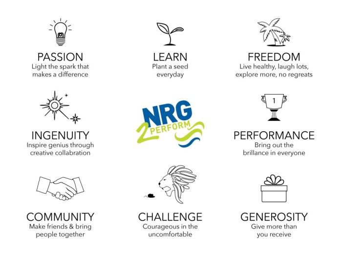 Craig Johns values NRG2Perform DNA
