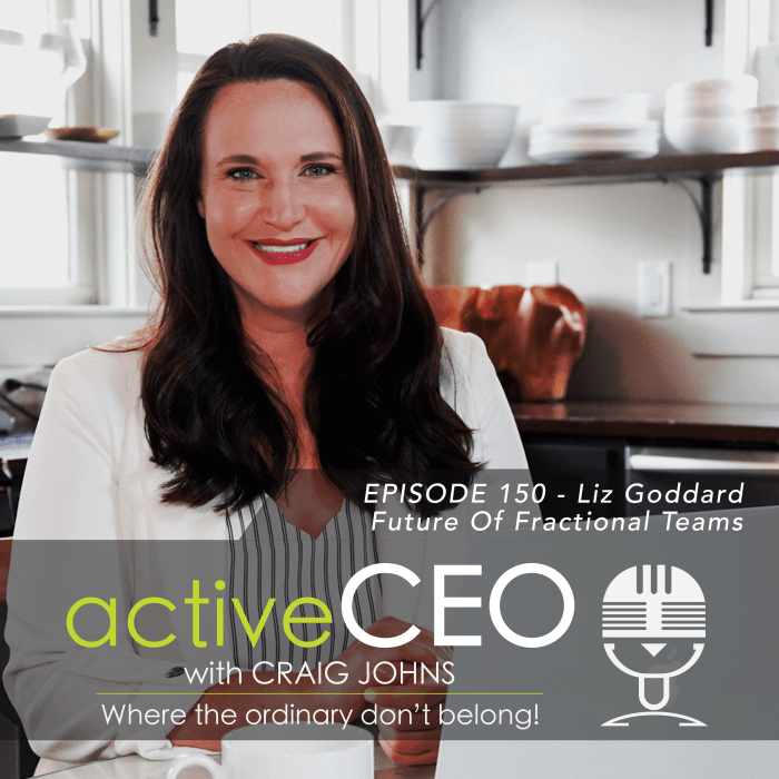 active CEO Podcast 150 Liz Goddard Future Of Fractional Teams