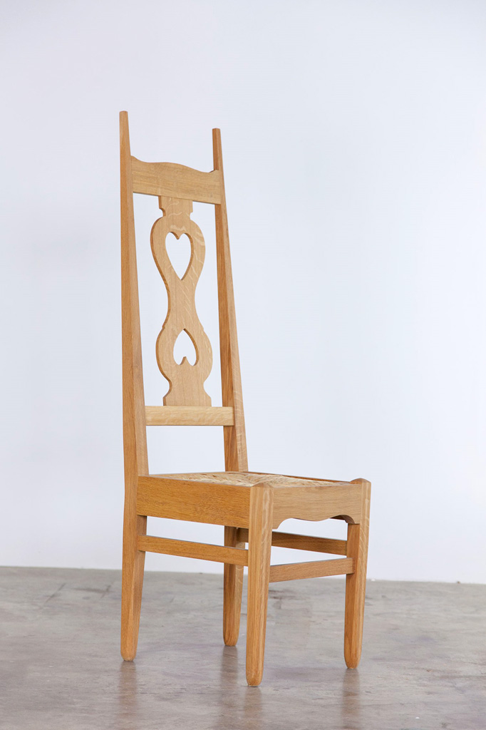 Voysey two hearted chair