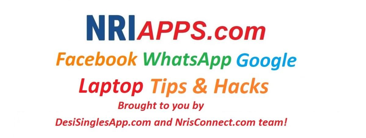 NRIApps com | Life Saving SmartPhone Hacks And Tips | NRIApps