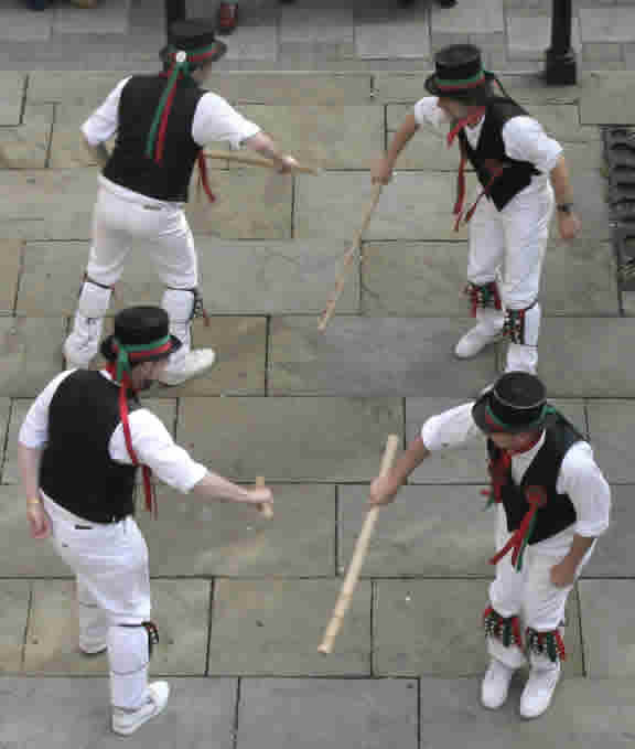 Morris men - copright M Everett