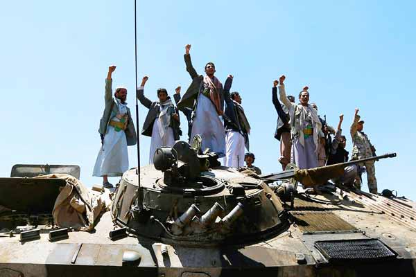 Military action against Huthi rebels in Yemen; US to give 'Logistical, Intelligence' support
