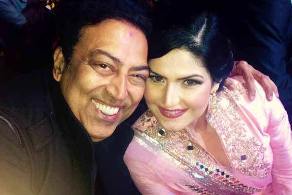 Zareen Khan does not forgets to thank Vindu Dara Singh
