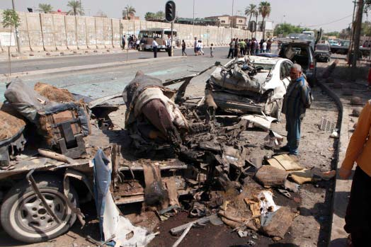 Car bombs across Iraq kill 56, wound dozens