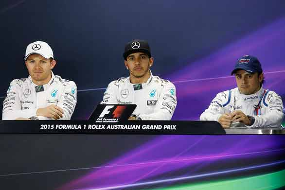 Australian Grand Prix 2015 - Qualifying Press Conference