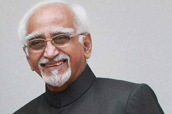Vice President Greets People on Rakshabandhan