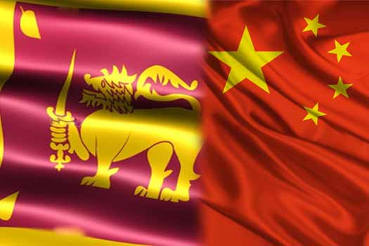 Lanka and China indicated willingness to mend fences at talks
