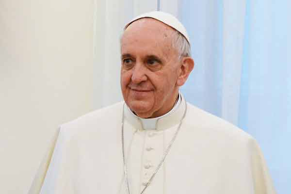 Feels ''like a mother-in-law'': Pope Francis