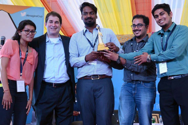 Microsoft announces India winners of the 13th edition of Imagine Cup 2015