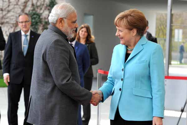 'Namaste Chancellor' Tweet by Modi to Welcome Merkel