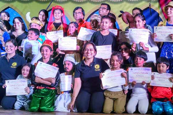 Helen O' Grady International Students successfully stage the play