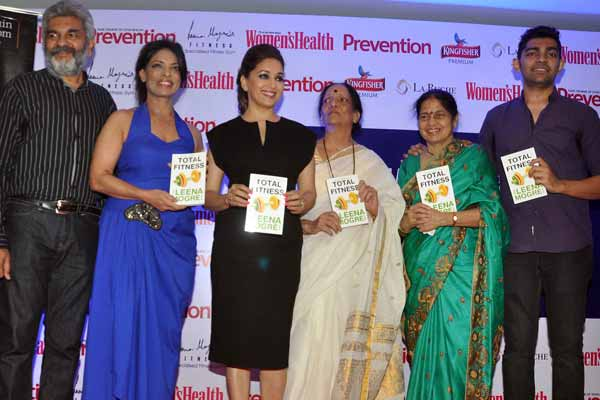 Madhuri Dixit launches fitness expert leena mogre's debut book titled 'Total Fitness'