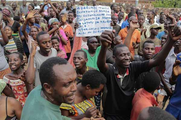 Burundi rejects UN call for election delay; elections will go ahead as planned