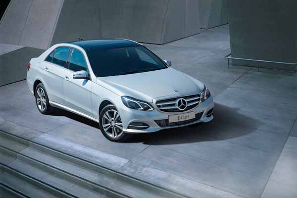 Mercedes-Benz celebrates E-Class' global sales anniversary; introduces the new MY (Model Year) 16 E-Class for India