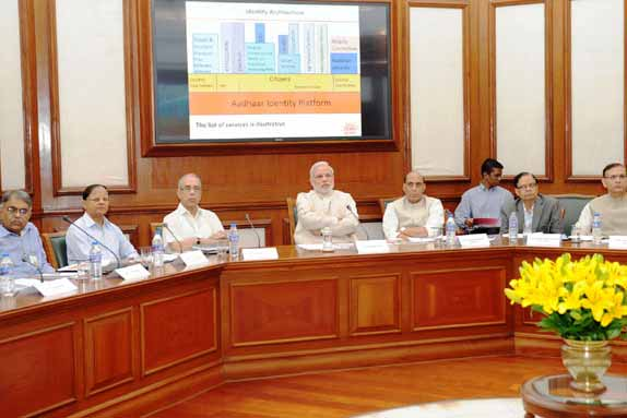 Review of UID and DBT: PM calls for accelerating the delivery of benefits through Aadhaar and DBT