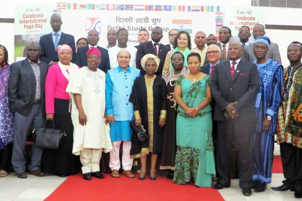 African Ambassadors honored  to promote India – Africa relations