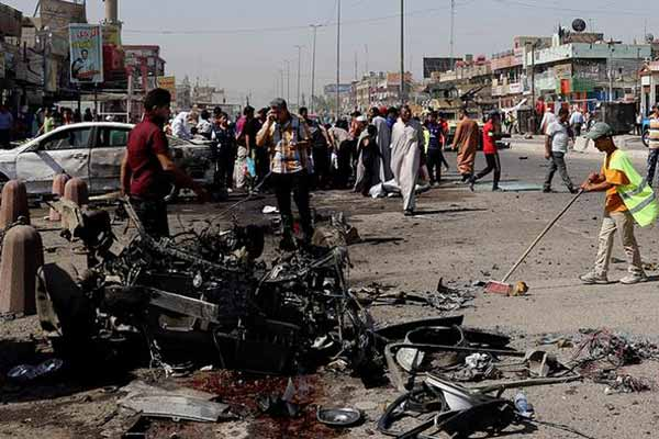 Bomb blasts in Iraqi capital; 10 Dead, others wounded