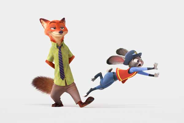 Disney Unveils the first look of Zootopia