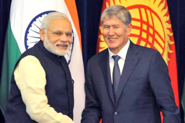 India, Kyrgyzstan boost defence cooperation