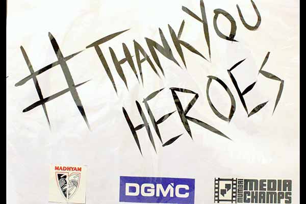 A Tribute to all our heroes by Deviprasad Goenka Management College of Media Studies students