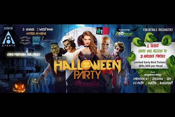 Halloween Party at Four Points by Sheraton Pune