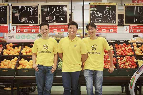 Singaporean startup Honestbee gets $15Mn to expand to six new Asian Countries