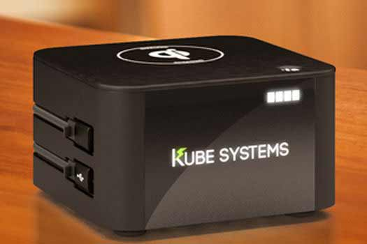 Room charging device + streaming audio alarm clock to debut at 'HX' from Kube Systems