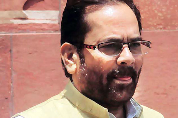 Naqvi gets independent charge of Minority Affairs; Heptulla, Siddeshwara resign from Union Cabinet