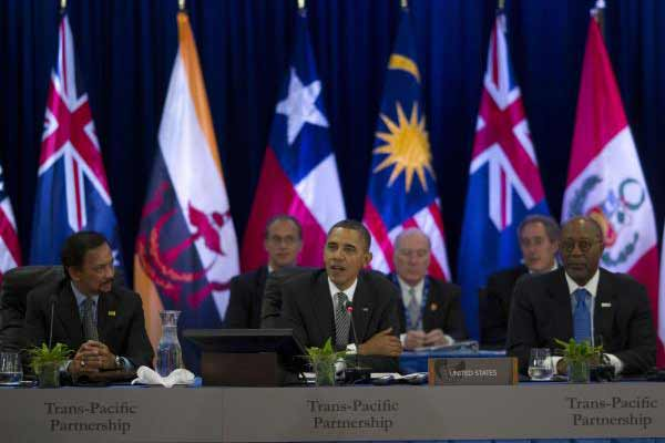 Full Text of Controversial TPP trade pact released