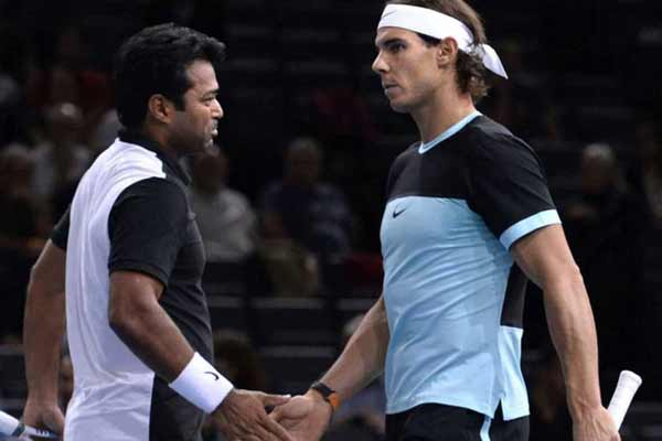 Paris Masters: Paes-Nadal lose in men's doubles first round