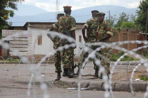 15 Killed in coordinated attacks on military camps in Burundi