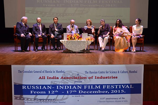 Festival of Russian-Indian Film Festival inaugurated at the Russian Centre for Science & Culture in Mumbai