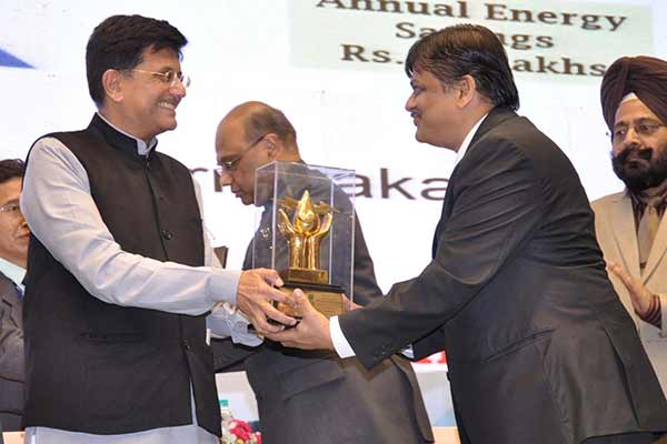 Tata Motors Dharwad Plant bags National Energy Conservation Award 2015