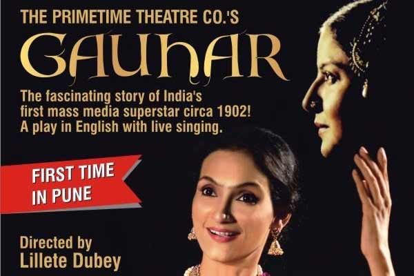 The English theatrical on Gauhar Jaan, India's first superstar, to be staged in Pune